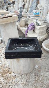 siyah lavabo
